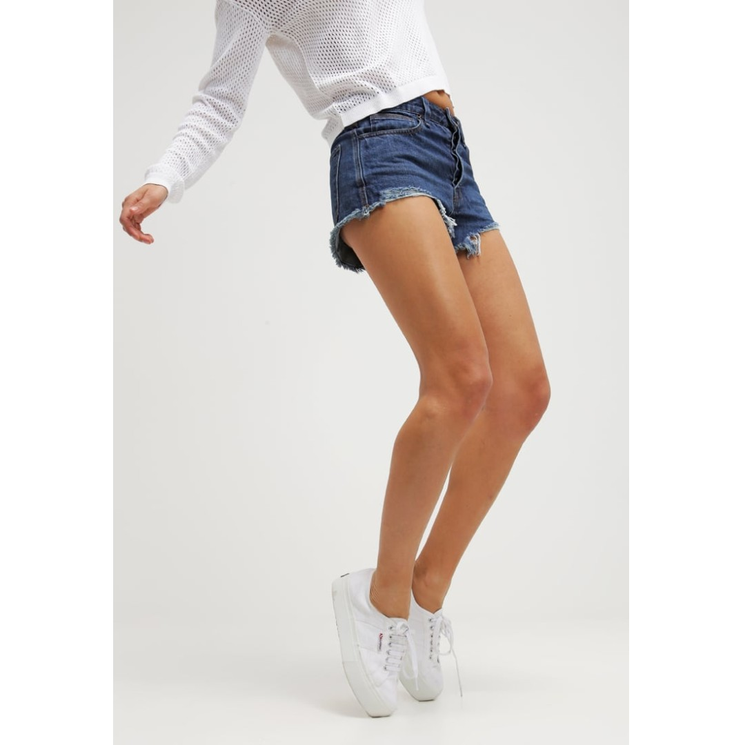 80392dd40 Free People Logan Denim Shorts in Rinse Wash, Women's Fashion ...