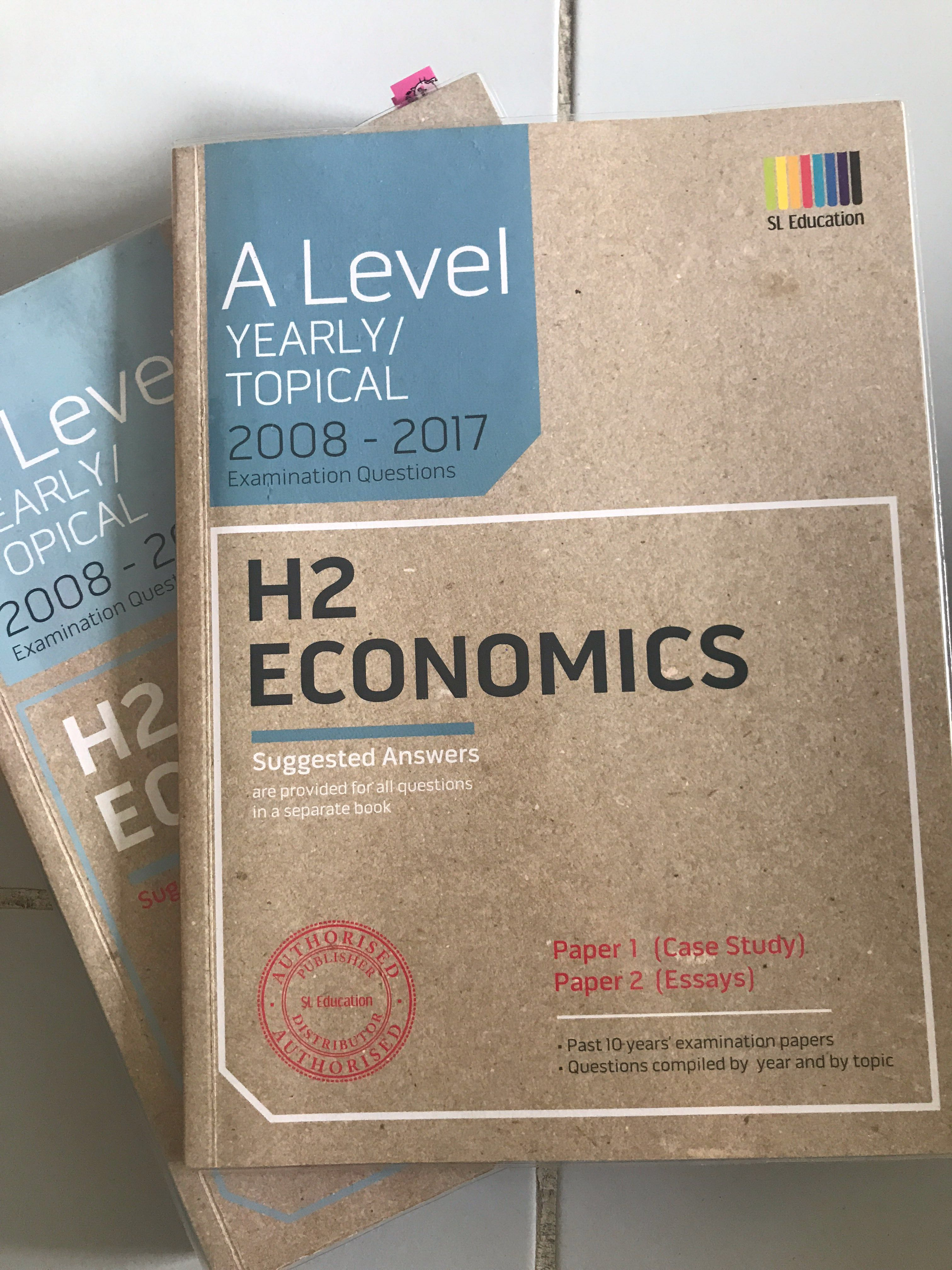 H2 Economics TYS 2008-2017 Question and Answer Book