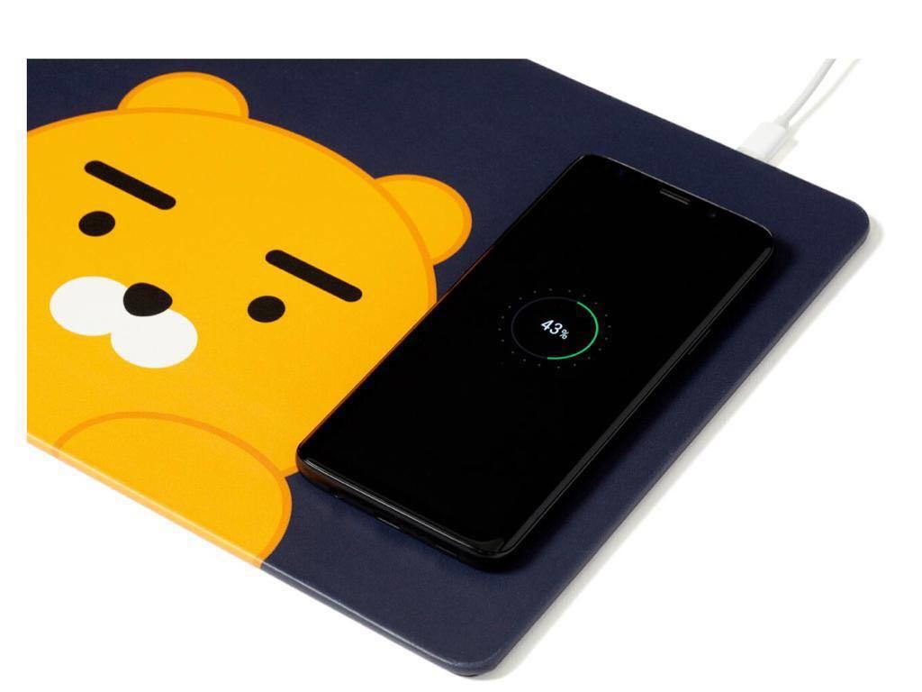 Kakao Friends - 無線充電鼠標墊(Wireless Charging Mouse