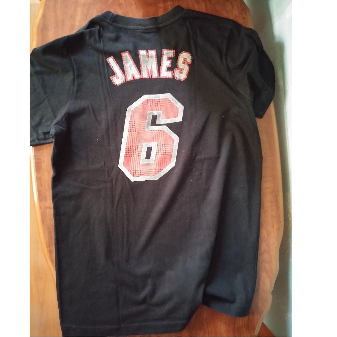 check out dae09 9b65c Miami Heat T Shirts Lebron | Top Mode Depot