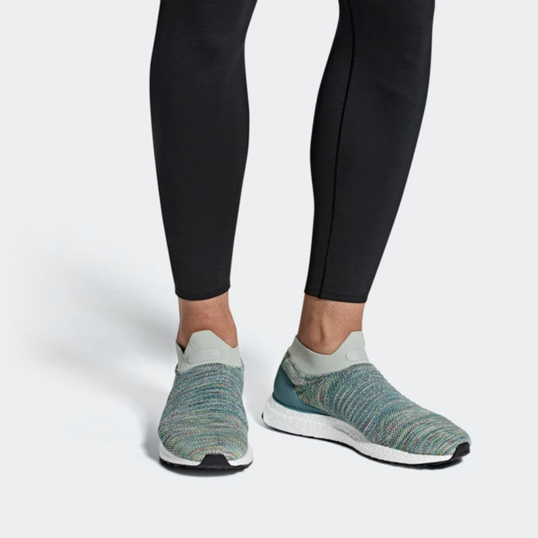 2caeebaf8ba LIMITED TIME OFFER  ADIDAS ULTRABOOST LACELESS SHOES - ASH SILVER ...