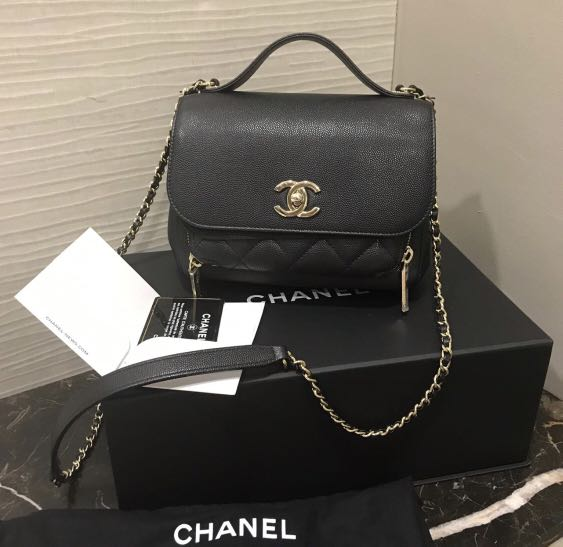ce153c0f333f1c LNIB Chanel Business Affinity Black with GHW, Luxury, Bags & Wallets,  Handbags on Carousell