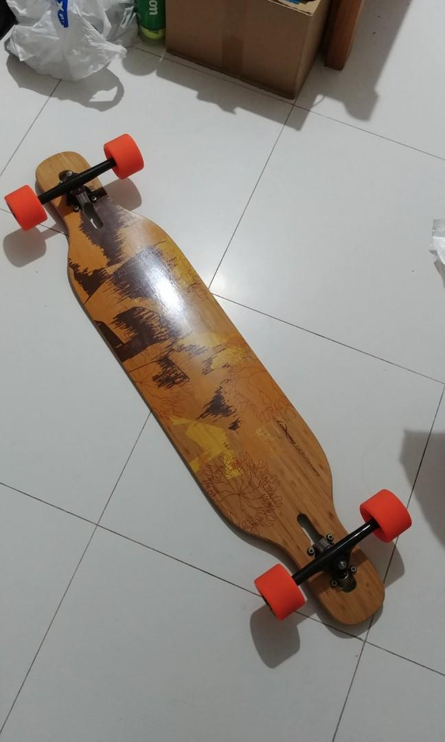 Loaded Dervish Sama Longboard, Bicycles & PMDs, Personal