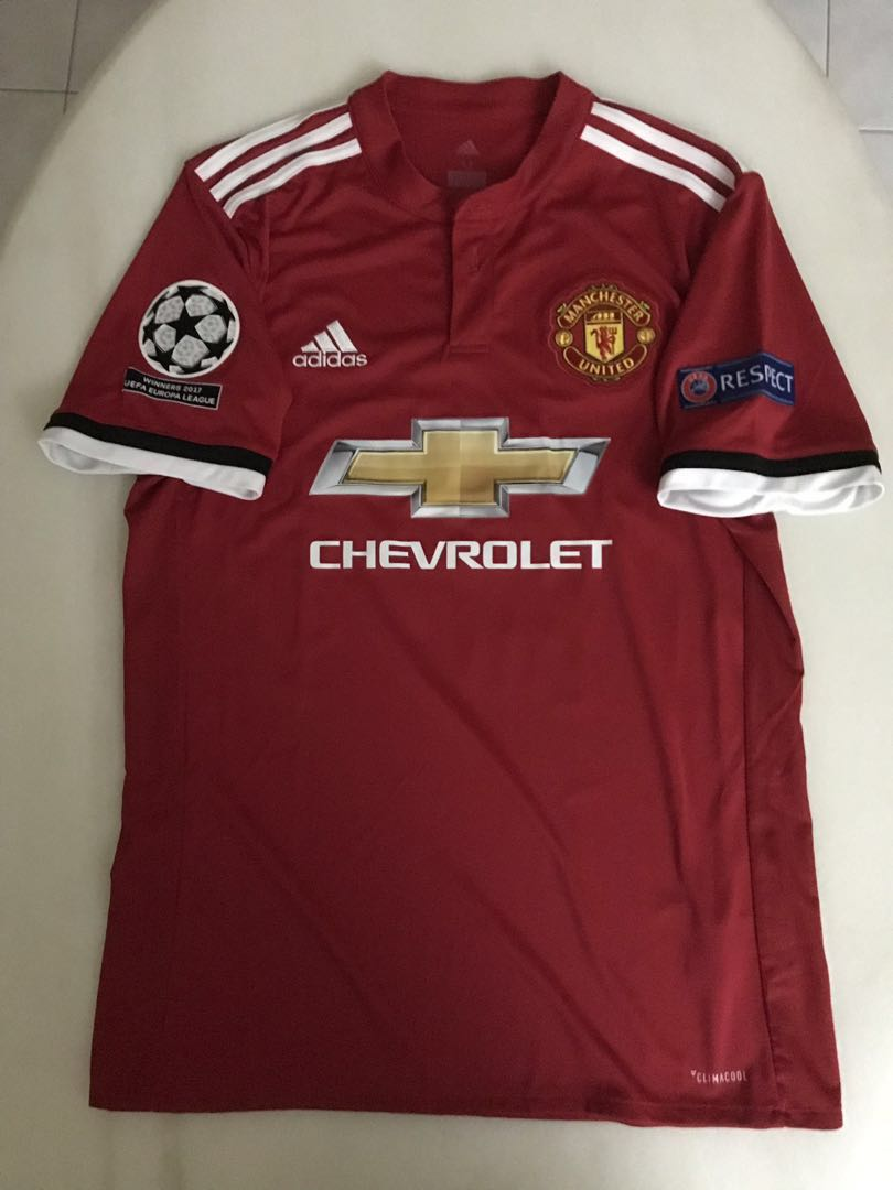 purchase cheap 0ac67 db4f3 Manchester United Matic home kit 17/18 season