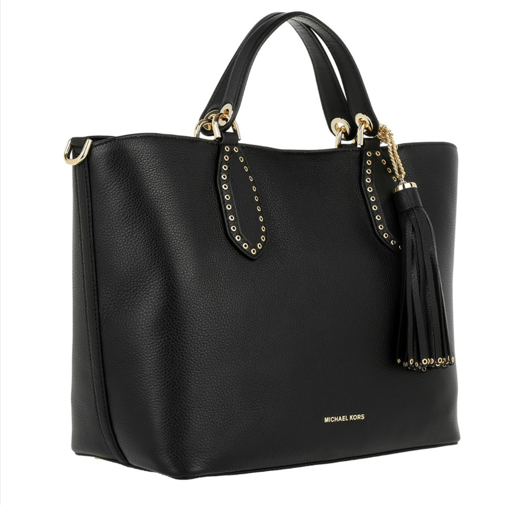 bda8c63f0f35 Michael Kors Brooklyn Large Leather Tote Bag