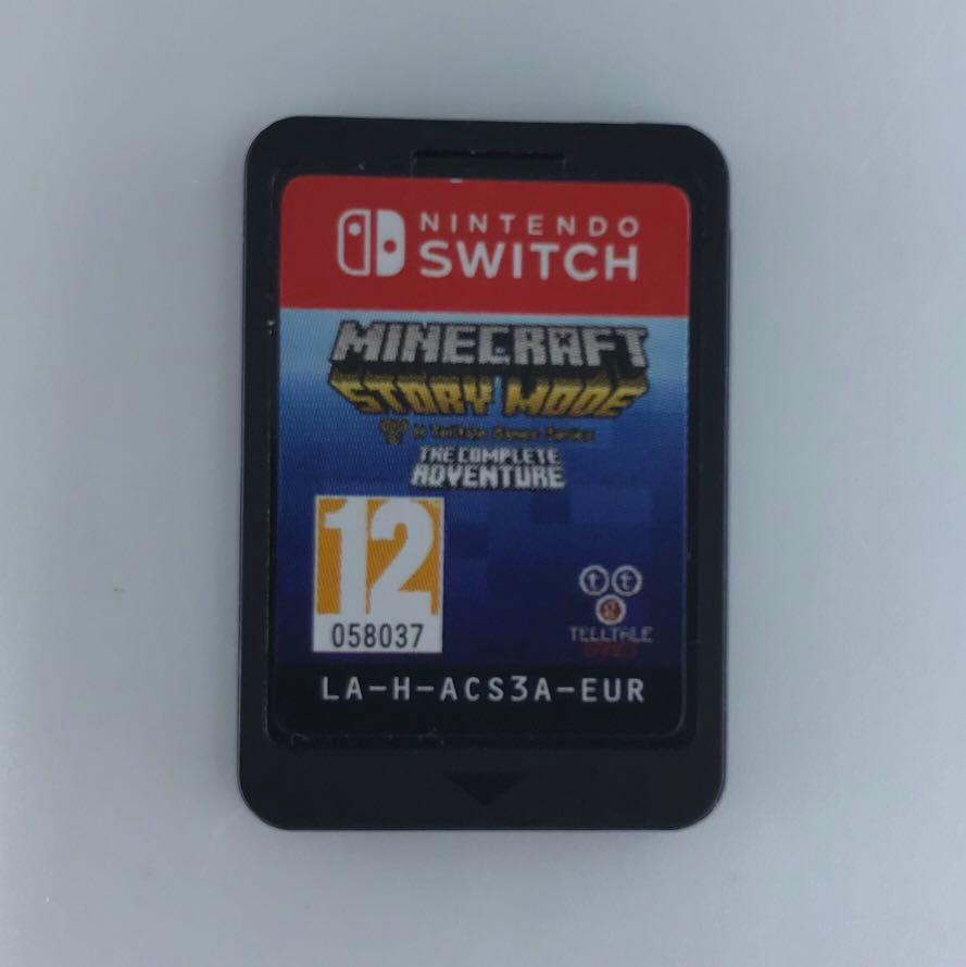 Minecraft Story Mode Game Card For Nintendo Switch Toys Games Video Gaming Video Games On Carousell