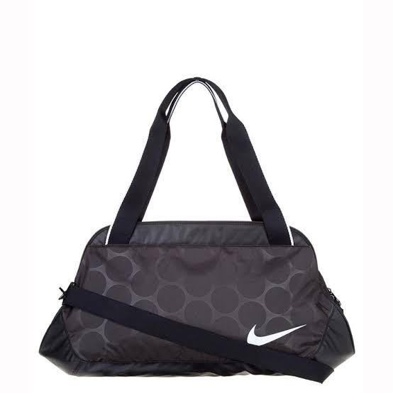 Nike Duffel Tri-Zip Gym Bag Womens Duffle not Adidas Kipling Kate ... d46ceab6f