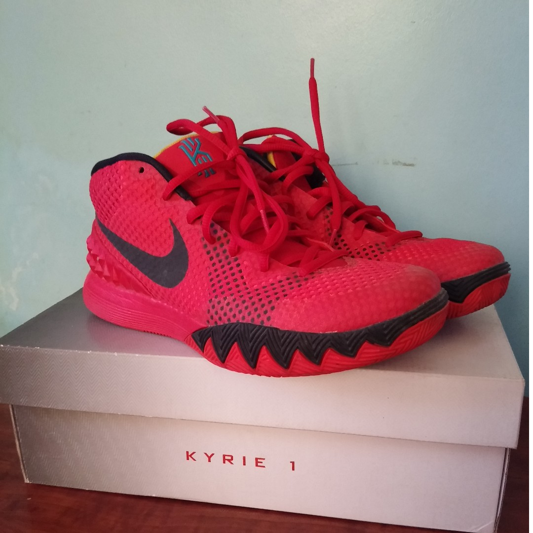 3c85fdde22fd7f Nike Kyrie 1 Deceptive Red US Men Size 7.5
