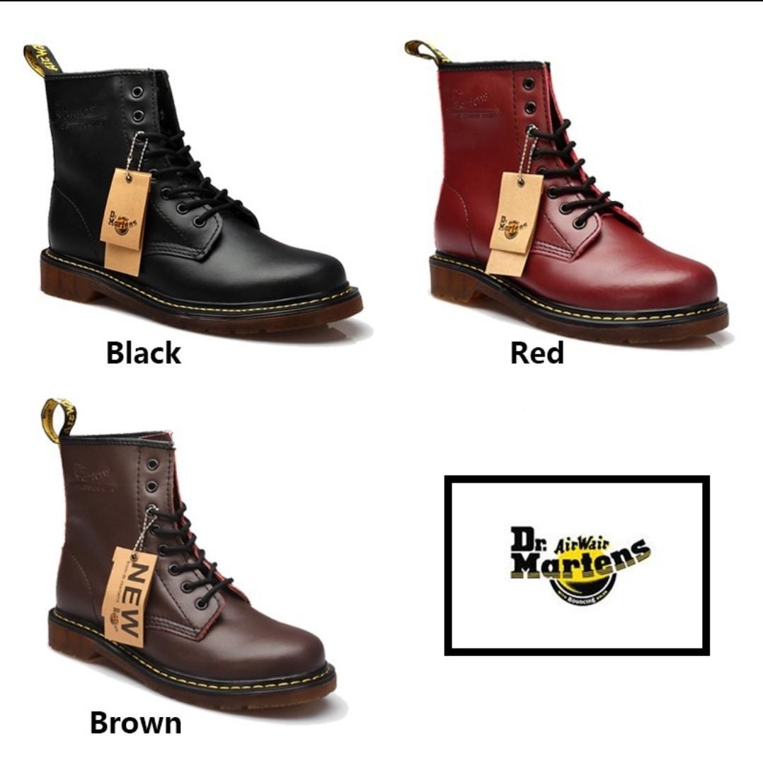 9f4d5c5d76 PO: DR MARTENS AIRWAIR 1460 BOOTS 8 EYELETS, Women's Fashion, Shoes ...