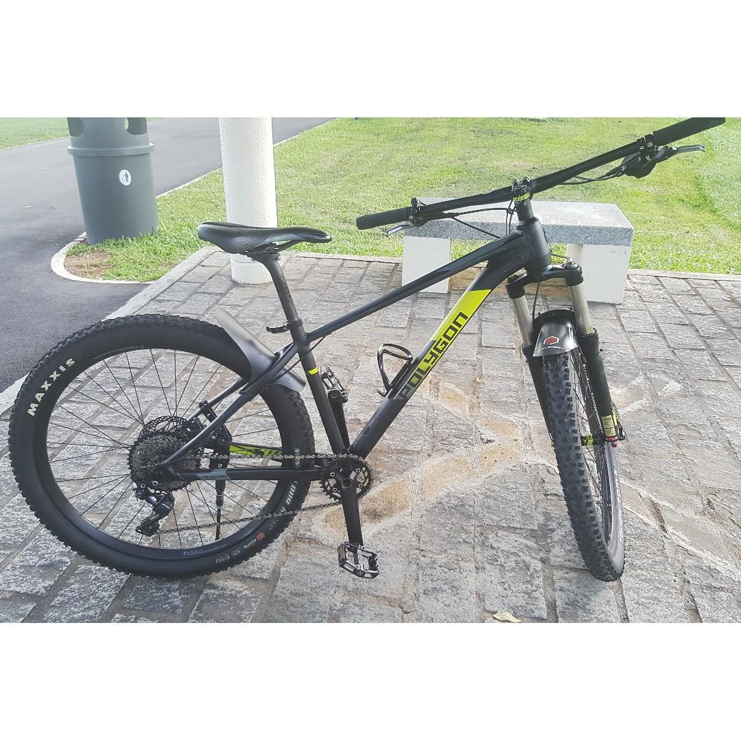 Polygon Xtrada 7 2018 Mountain Bike, Bicycles & PMDs, Bicycles, Mountain Bikes on