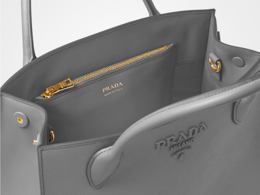 7130c165618f 💥$1k discount💥 Prada Monochrome Saffiano Bag (medium size), Luxury, Bags  & Wallets, Handbags on Carousell