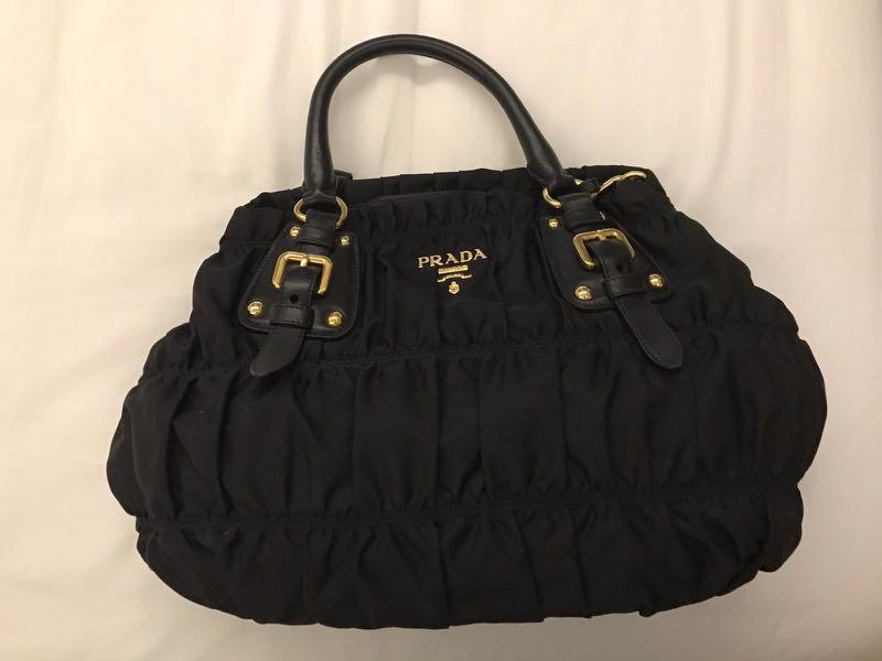 176791e2fea817 ... nylon bag bragmybag 4e3a8 cc080 best price prada tessuto gaufre bn1792  womens fashion bags wallets sling bags on carousell 06f94 c2d57 ...