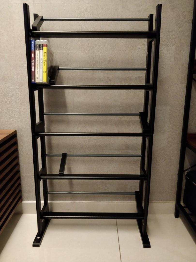 Ps4 Xbox Video Game Shelf Rack Furniture Shelves Drawers On Carousell