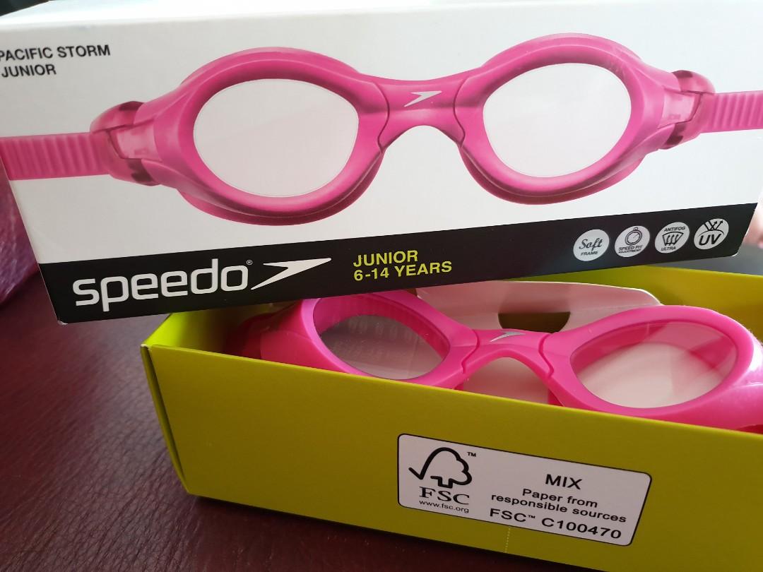 e39a8a3e8f36 Speedo Pacific Storm Junior Goggles