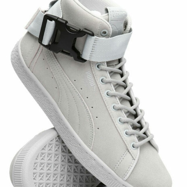 bb3045dbf0ff Suede Classic Mid Buckle Sneakers by Puma