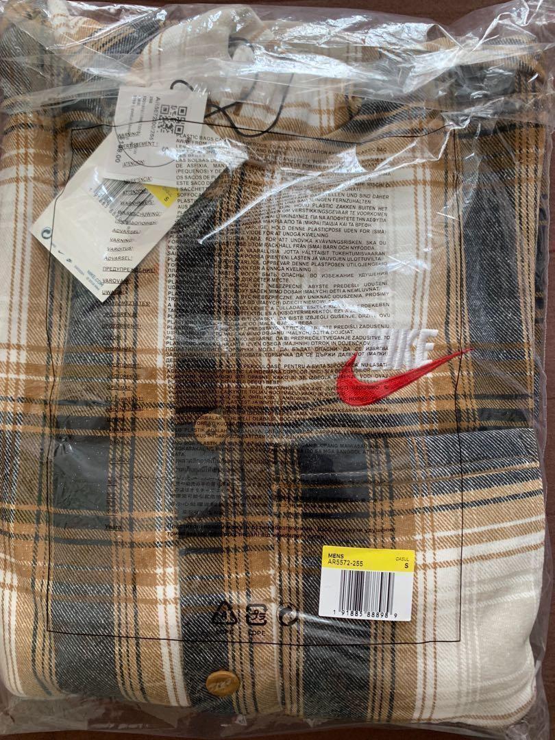 Supreme Nike Plaid Hooded Sweatshirt