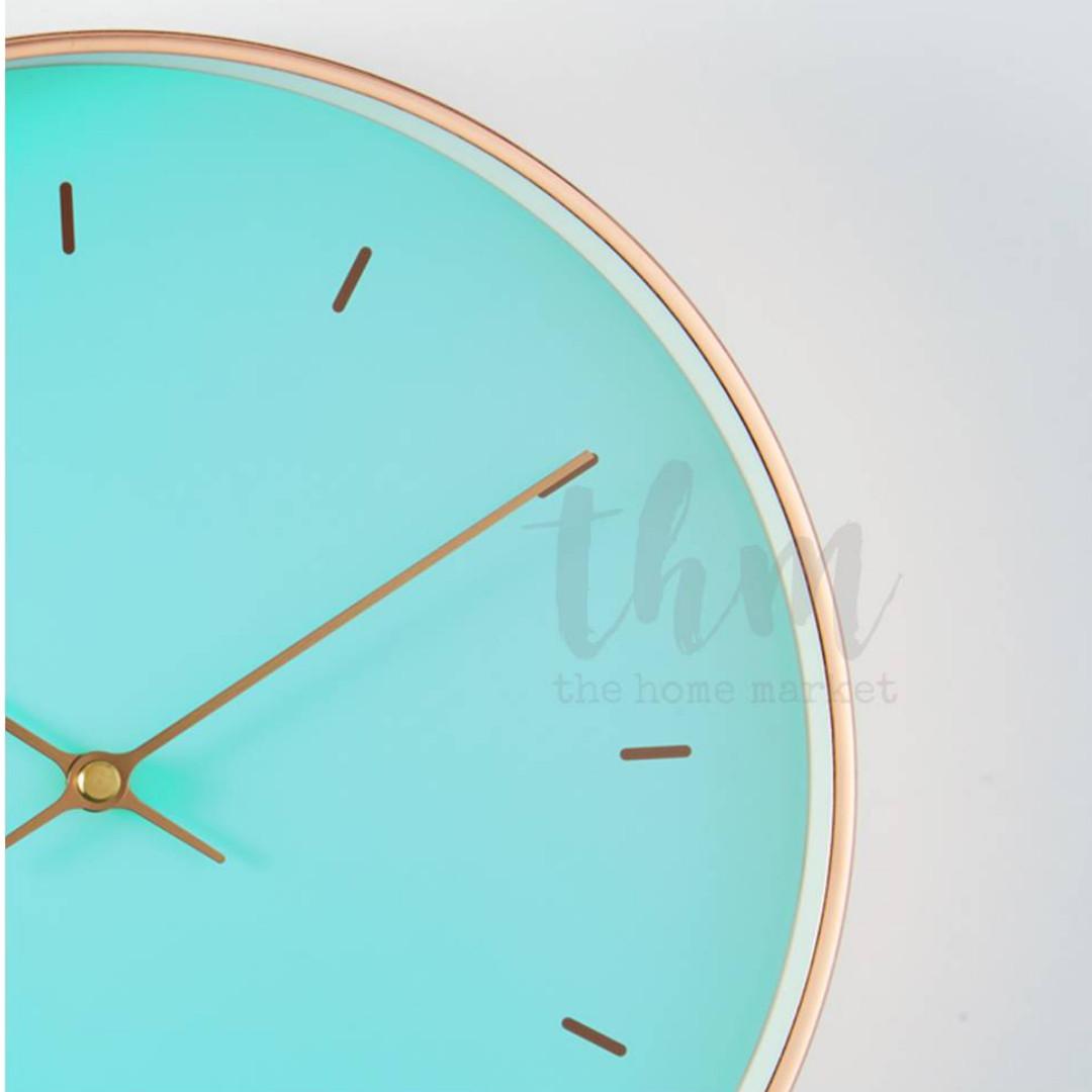 Strange The Tiffany Clock Metal Frame Wall Clock Quartz Download Free Architecture Designs Rallybritishbridgeorg