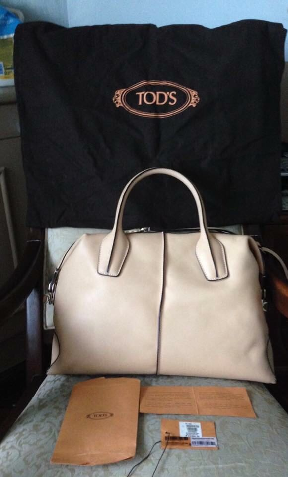 Tod s Leather D-Styling Bauletto Medio Bag dae26e425de2a