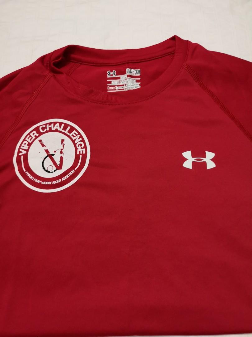 65225e12a Under Armour Shirt viper race t-shirt size S, Sports, Sports Apparel ...