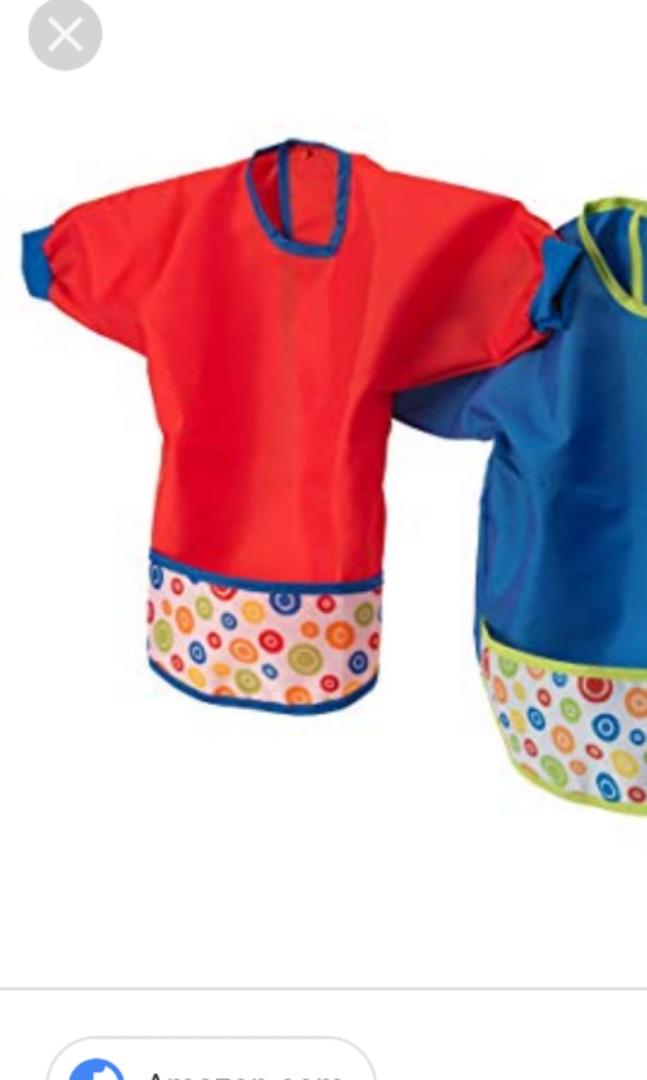 de8c000f6 USED IKEA KIDS BIB / APRON, Babies & Kids, Babies Apparel on Carousell