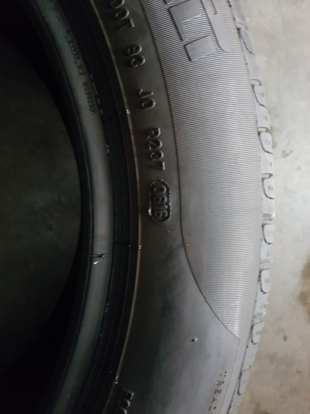 Used pirelli 215 55 17 ..2 pcs avail...$25 each