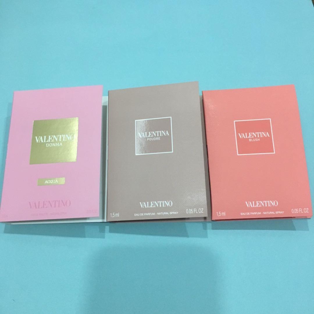 0d888dffabd40 Valentino Donna Acqua, Valentino Blush,Valentina Poudre Perfume ...