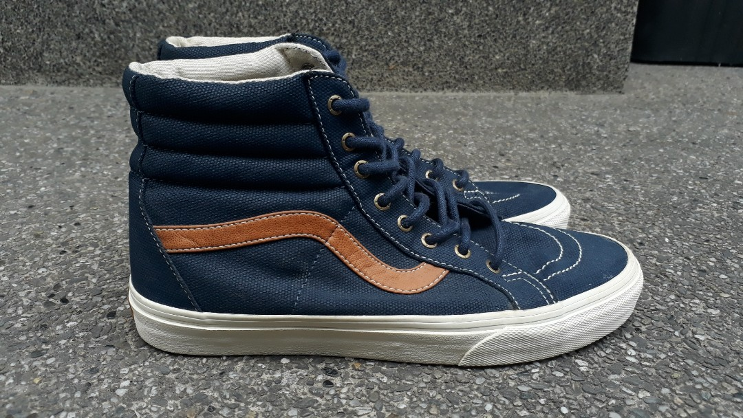 14372de275 Re-priced! VANS Sk8 Hi Reissue Denim C L