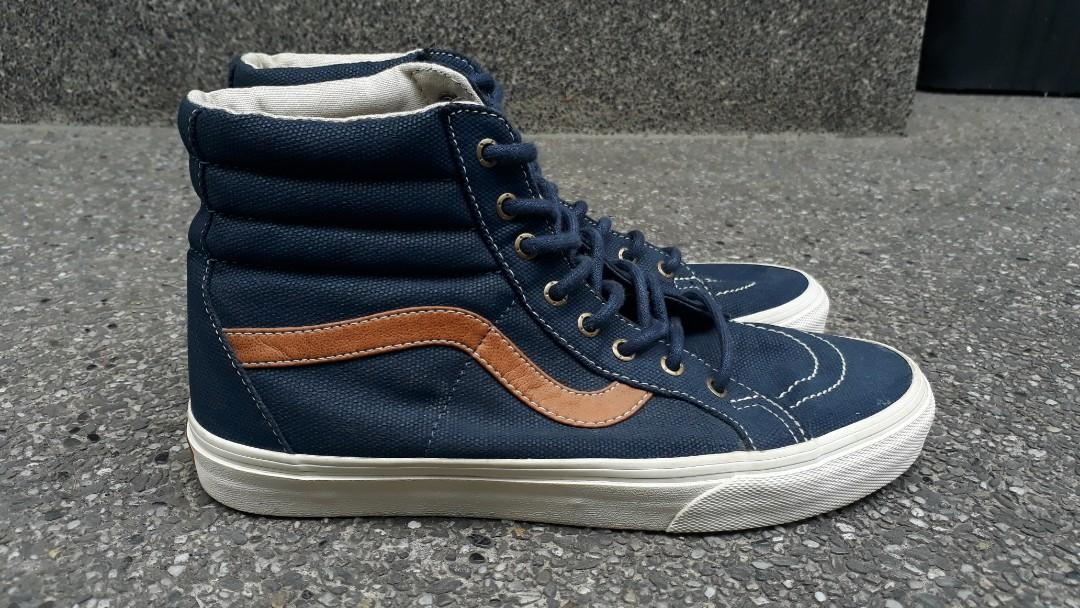 149f623be3 Re-priced! VANS Sk8 Hi Reissue Denim C&L on Carousell