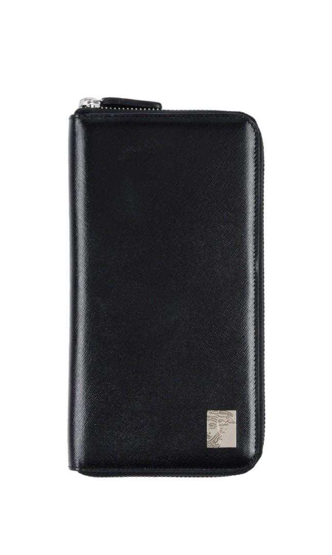 79f5d25fd3ca VERSACE COLLECTION V93129S VM00043 V000N Leather organiser wallet ...