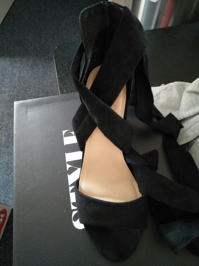 Wide fit heels size 9