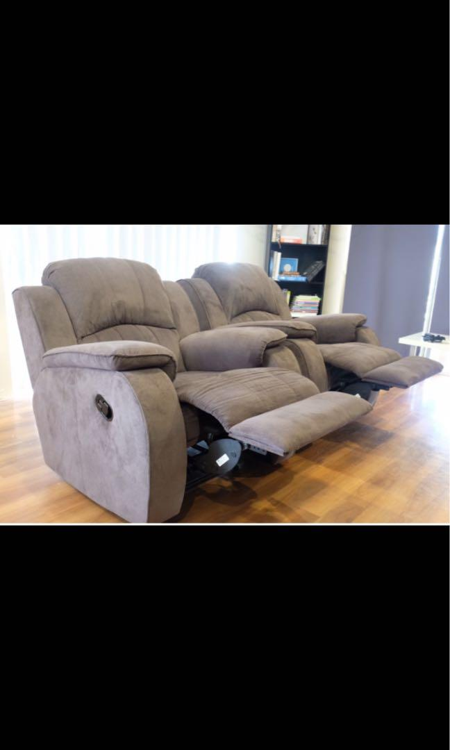 x2 Reclining Chairs