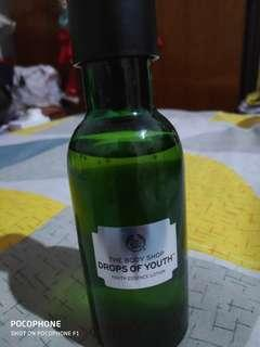 Body shop drops of youth essence