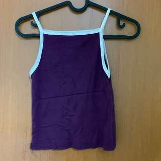 Outlined Cami crop top