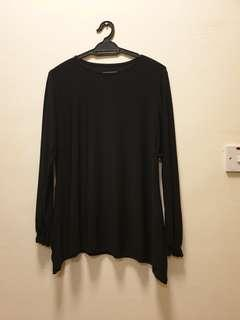 Black Long Sleeve Top #PayDay30