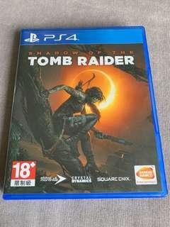 PS4 Shadow of the Tomb Raider 中文版
