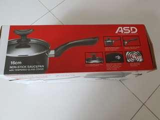 New asd saucepan non stick
