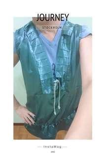 Casual silk dress (size L)