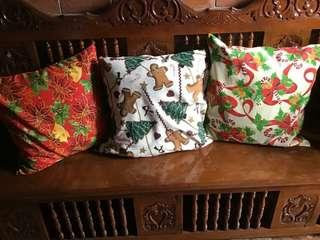 Christmas Themed Bags, Pillow cases and more!