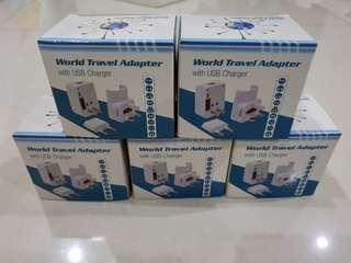 World Travel Adapter BNIB