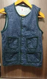 Samurai jeans vest