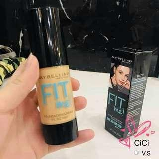 Fit me foundation♡
