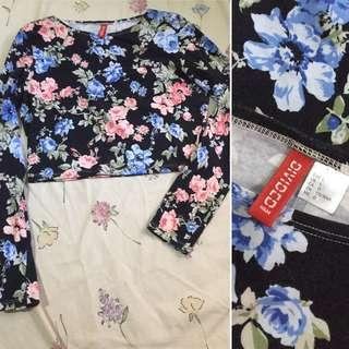 H&M cropped top long sleeves (REPRICED)
