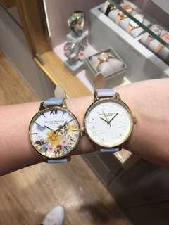 新加坡代購 olivia burton watch