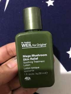 Dr.andrew Weil for origins mega-mushroom skin relief soothing treatment lotion 30ml