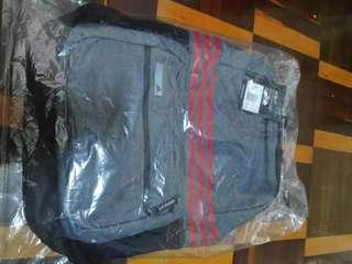 100% ori adidas 3-STRIPES BAG pack credit card accepted