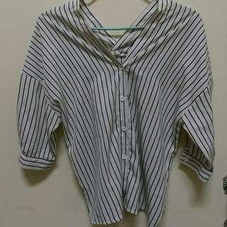 條紋 襯衫 休閒襯衫