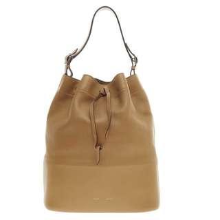 100% Real Celine Seau Drawstring Bucket Bag