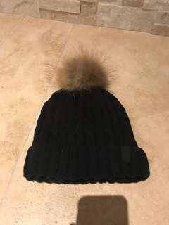 Real fur bunny hat