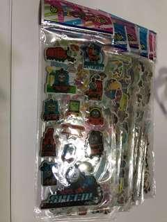 20 random Cartoon stickers
