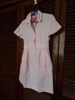 Her Bench Peach Polo Dress